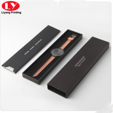 Rectangle black women watch gift box
