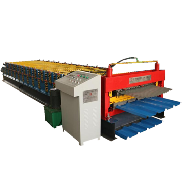 Steel roof corrugated trapezoidal roll forming machine