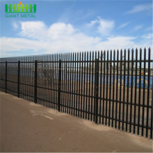 factory low price Used for Palisade steel fence Details Palisade Steel Fence for Residential With Warranty export to United Kingdom Manufacturer