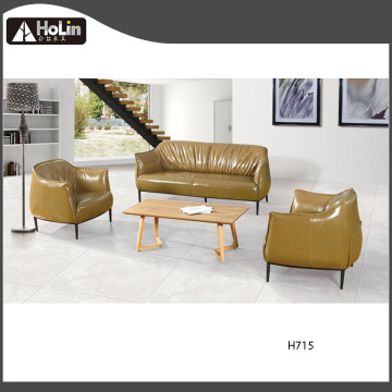 3 Seater Office Modern PU Leather Sofa