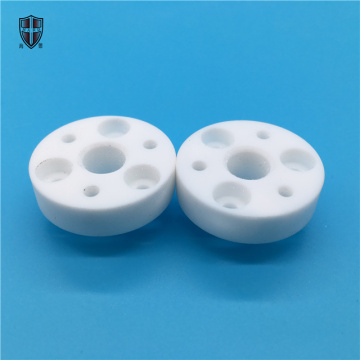 machinable pyroceram glass zerodur ceramic disc disk plate