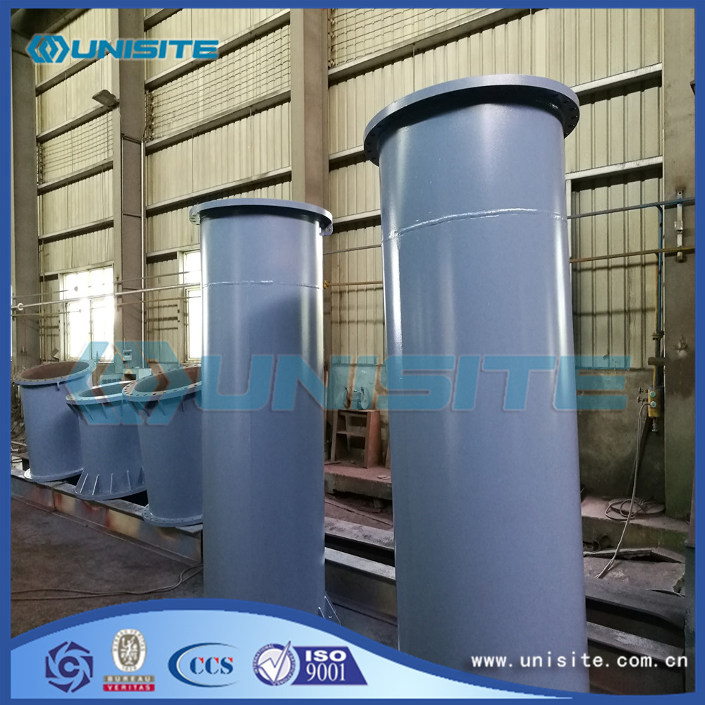 Exhaust Straight Steel Pipe With Flange For Sale