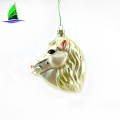 Hanging Shiny Horse Head Ornament Decoration