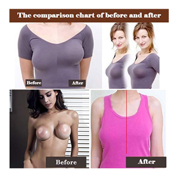Womens Silicone Invisible Bra Lift Pasties