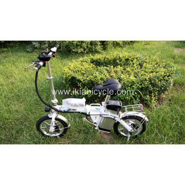 16 Inch Steel Fork Material Folding Bicycle