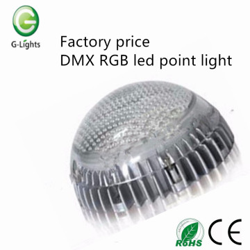 Factory price DMX RGB led point light