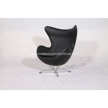 kids egg chair in leather