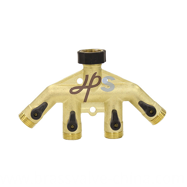 High Quality Brass Material Manifold Hm10