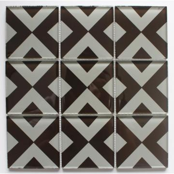 95x95mm Single Size Crystal Glass Mosaic