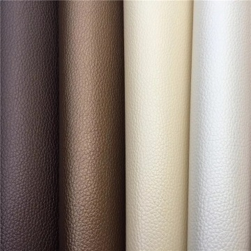 Colored Textured Lichee Soft Vegan Leather for Sewing