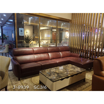 Factory Cheap price for Genuine Leather Sofa Best Contemporary Soft Sofas export to France Exporter