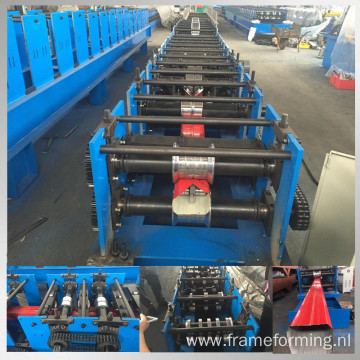 steel rainpipe roll forming line