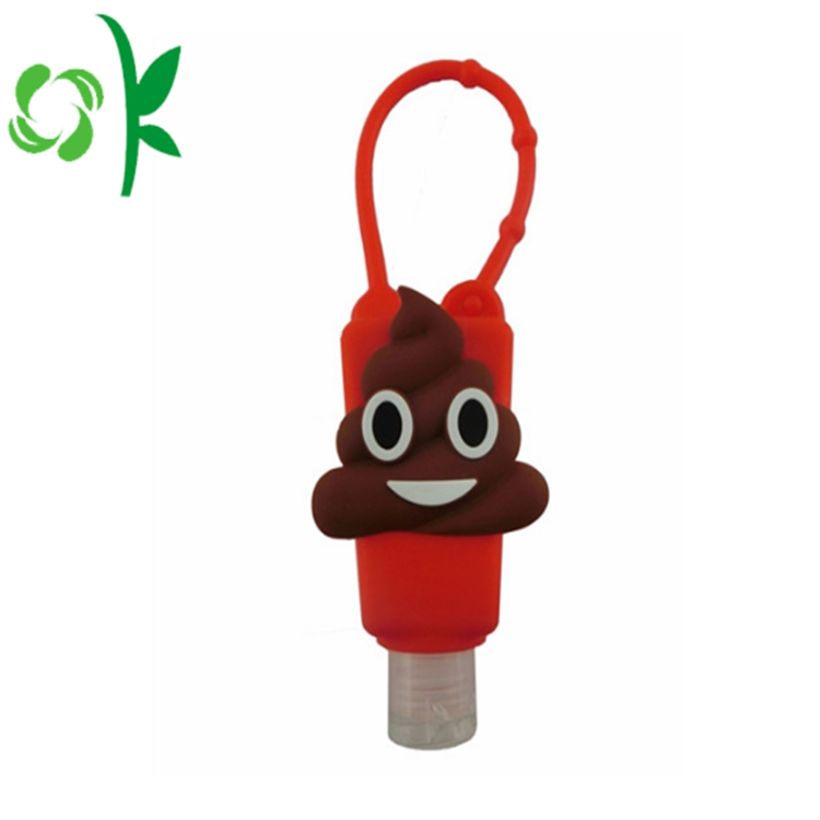 Silicone Hand Sanitizer Bottle With Holder