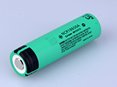 back flashlight Lithium Ion Rechargeable 18650 battery
