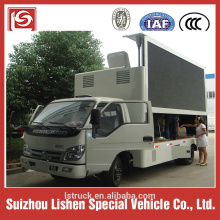 LED Advertising vehicle hydraulic lift Screen