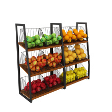 Metal Fruit and Vegetable Display Rack