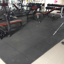 Sound absorption EPDM rubber floor mat for gym