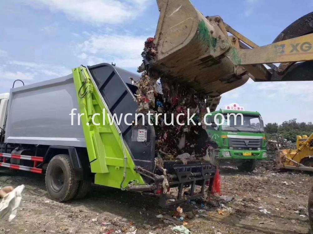 Waste Process Truck 4