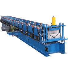 Metal ridge cap panel  roll forming machine