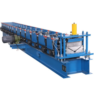 Galvanized Colored Ridge Cap Tile Cold Forming Machine