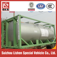 Chemical Liquid Medium Transportation Tank Container 20ft