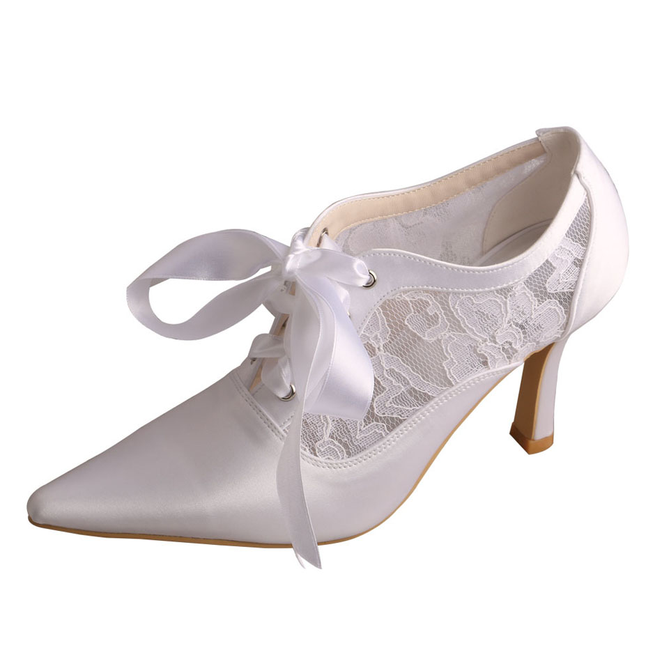 Bridal Shoes with Lace up