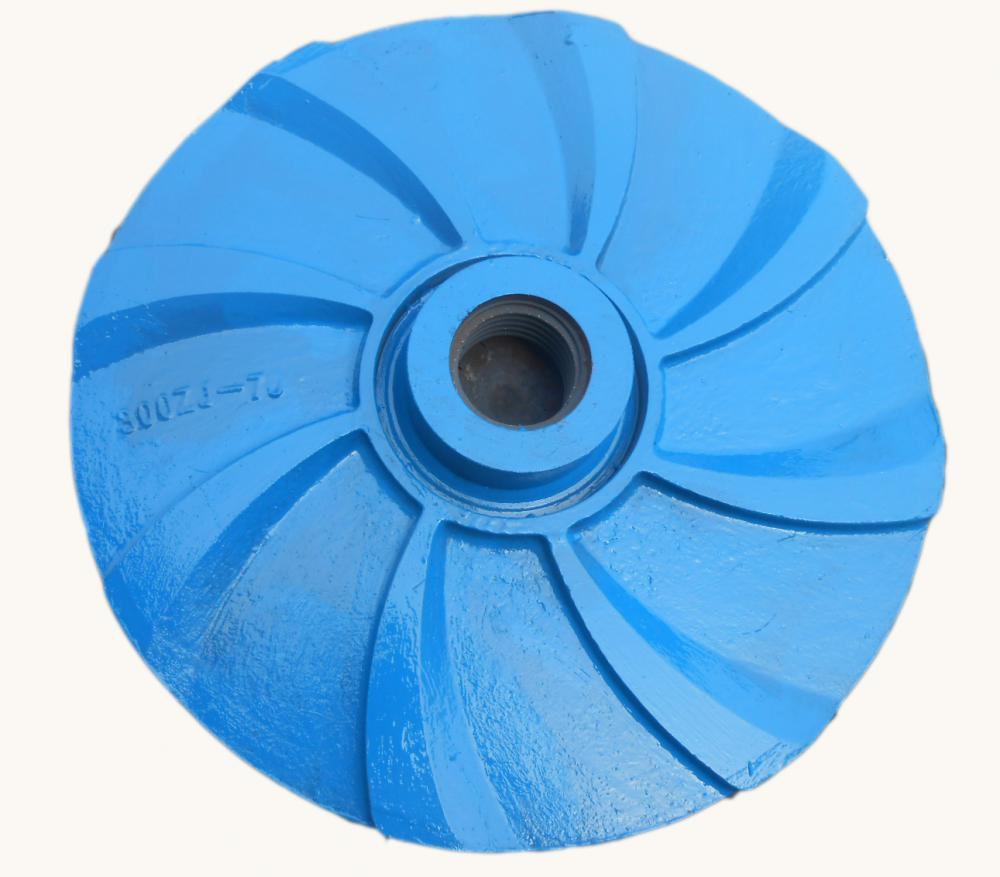 High Chrome Wear Resistant Closed Impeller