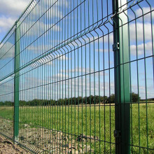 High security Outdoor decorative 3d wire msh fence
