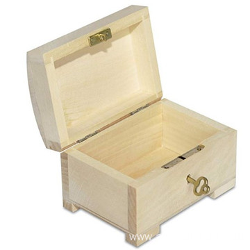 Little Lockable Box Wooden Trinket with Lid Little Lockable Box Wooden Trinket - 10.6 x 7.5 x 7.5 cm – with Lid