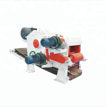 Log Tree Wood Chipper Press Machine