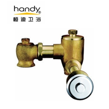 Button Type Toilet Flush Valve
