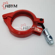 Personlized Products for Clamp Systems Concrete Pump Spare Parts Bolt Forged Clamp supply to Tunisia Manufacturer