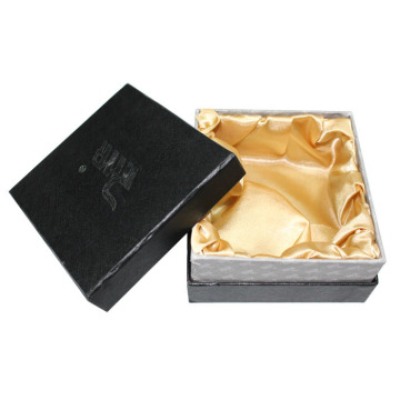 Satin Interior Texture Paper Lid and Base Box