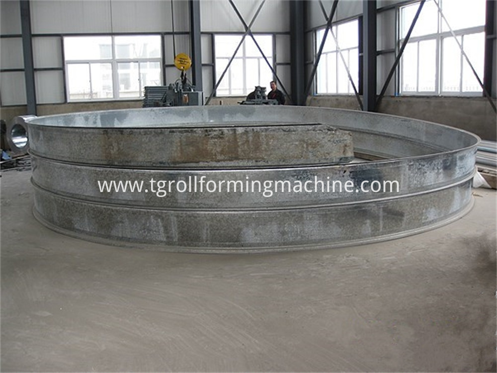 Spiral Steel Silo Forming Machine