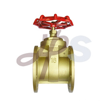 Brass flanged gate valves
