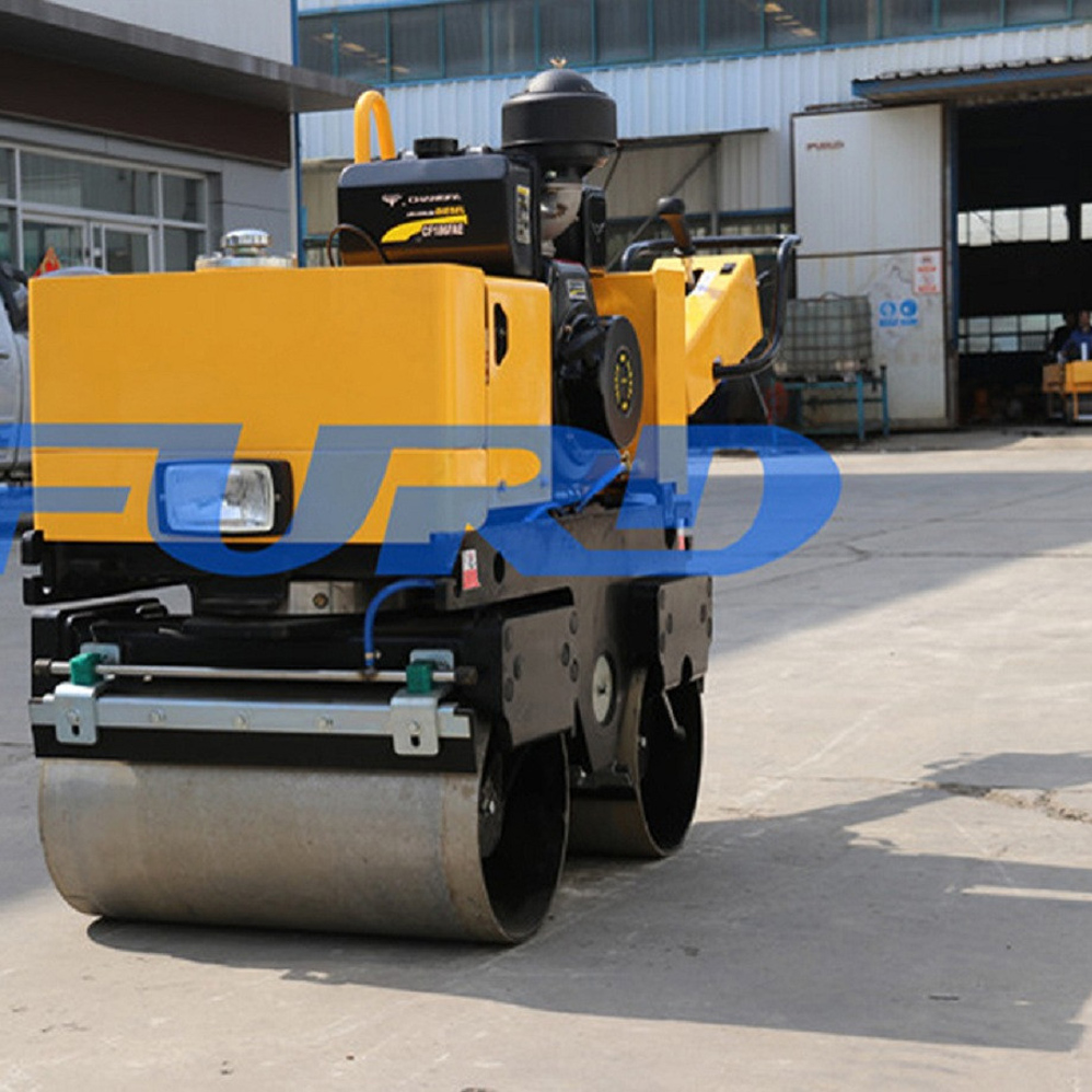 Walk Behind Mini Manual Asphalt Roller