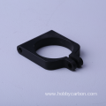 Carbon tubes aluminium clamp pipe clamp