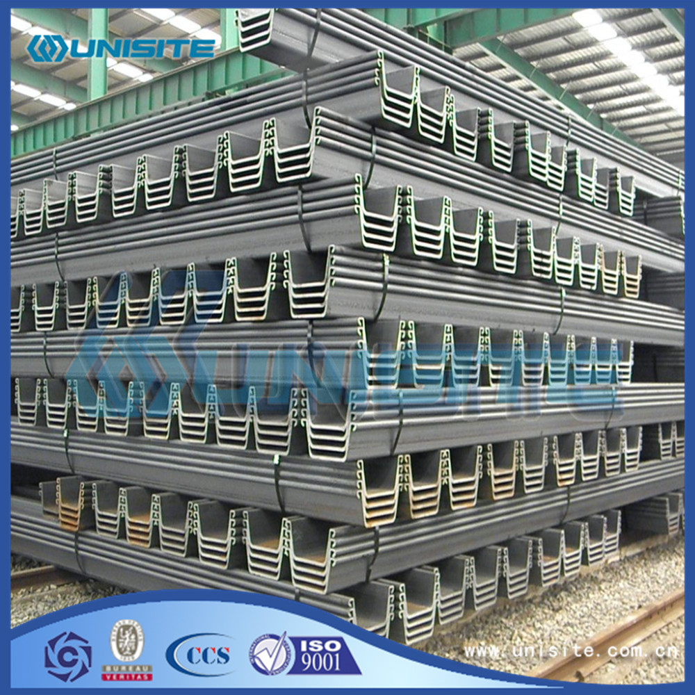 Composite sheet pile walls