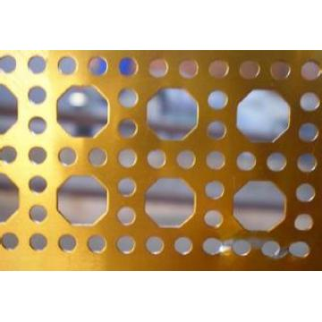 Stainless steel sheet screen perforated metal