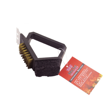 Heavy Duty BBQ Angle Masters 3-In-1 Grill Cleaning Brush