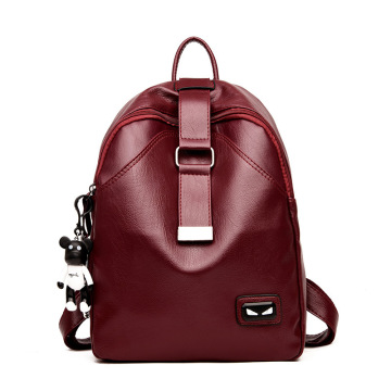 Wholesale genuine leather backpack for girl
