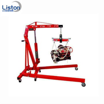 2 ton folding hydraulic jack pneumatic engine crane