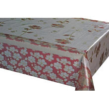 7D Meiwa Printed Tablecloth gold