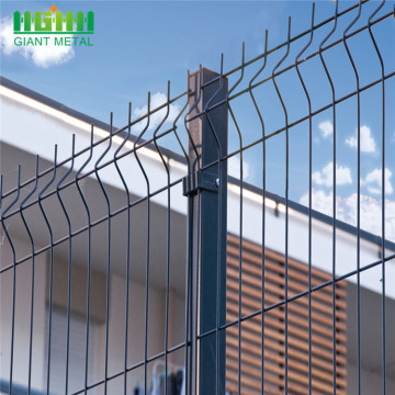 Best price Green PE coating wire mesh fence