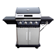 OEM manufacturer custom for Propane Gas Grill 4-Burner Propane Gas Grill with Side Burner supply to France Importers