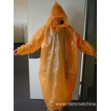 Big discounting for PE Long Raincoat Waterproof Disposable Emergency Best Travel Raincoat export to Libya Importers