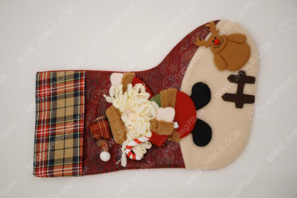 Custom Christmas Stocking Gift Bag For Christmas