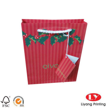 Cheap Price Christmas Paper Bag for Gifts
