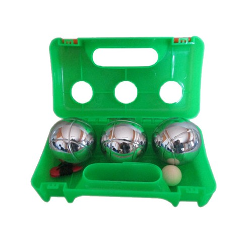 Boule set in plastic box