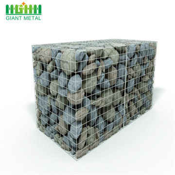 Hot dipped galvanized Welded gabion baskets